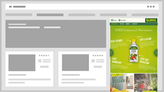 Display- & Videokampagnen